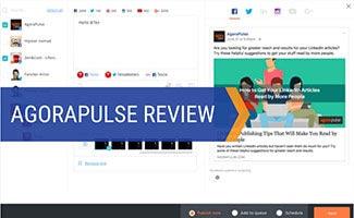 Agorapulse screenshot (caption: Agorapulse Review)