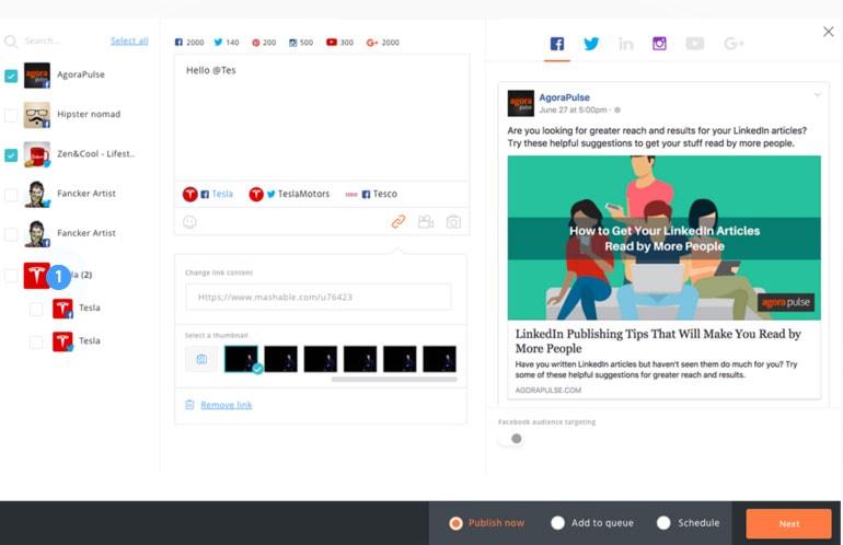 Agora Pulse screenshot