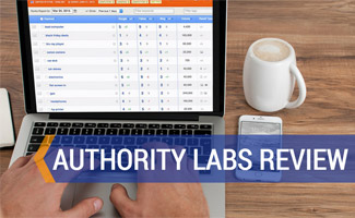 Authority Labs on computer screen