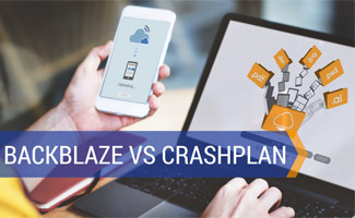 Pereson backing up phone and computer: Backblaze vs Crashplan