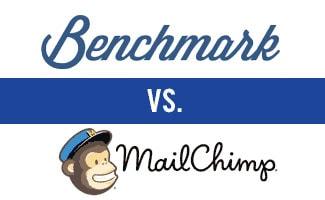 Benchmark vs MailChimp