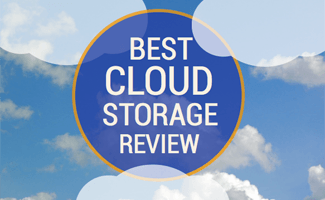 Best cloud storage comparison in blue sky and clouds