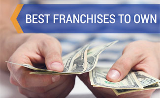 Person counting money: Best Franchises to Own
