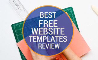 Person cutting paper: Best Free Website Templates
