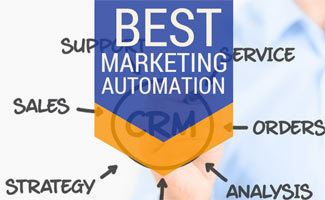 Person drawing on wall CRM: Best Marketing Automation
