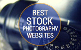 Camera up close (caption: Best Stock Photo Sites)