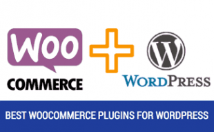 WooComerece and Wordpress logos