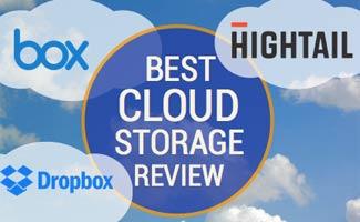 Box vs Hightail vs Dropbox, caption: Best Cloud Storage Review