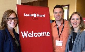 Team WRYW at Social Media Brand Forum