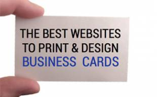 Best websites to design and print business cards
