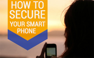 Woman on phone: How To Secure Your Smart Phone