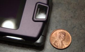 Cell phone and a penny