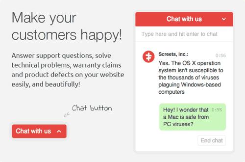 WordPress Chat X screenshot