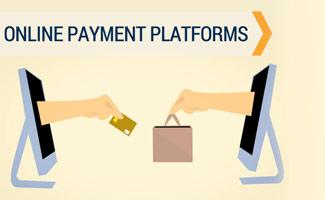Shopping online illustration