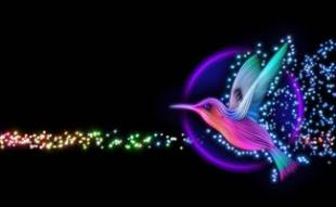 Digital hummingbird