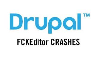 Drupal FCKEditor crashes