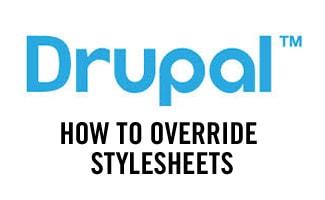 Drupal style sheet override