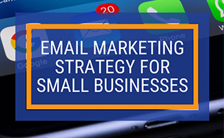 Email app on smart phone (caption: Email Marketing Strategy For Small Businesses)