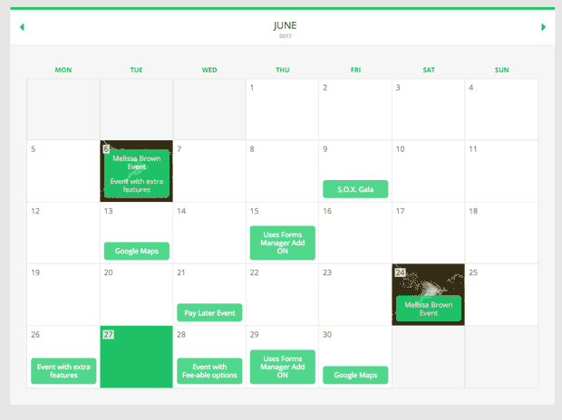 Event Booking Pro screenshot
