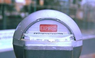 Expired meter