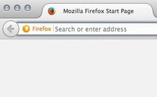 Searching in Firefox