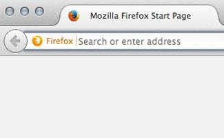 Searching in Firefox