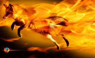 Burnin firefox