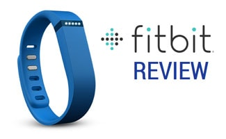 Fitbit band and logo: Fitbit Review