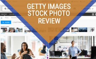 Getty screenshot (caption: Getty Images Review)