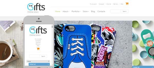 Gifts WooCommerce Theme screenshots