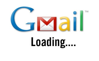 Gmail loading