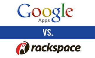 Google Apps vs. Rackspace