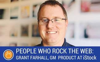 Grant Farhall, GM at iStock