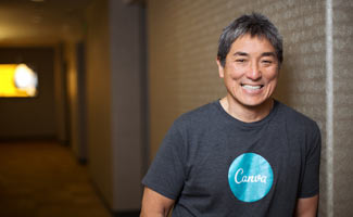 Guy Kawasaki in Canva shirt