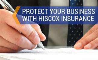Lawyer writing: Hiscox Insurance Review