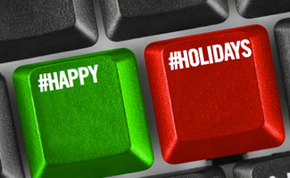 Holiday keyboard
