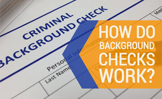 Background check and pen