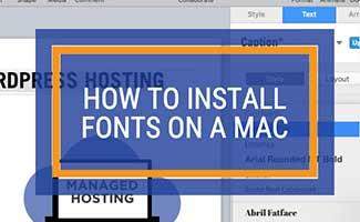 Mac fonts screenshot (caption: How to Install Fonts On Mac)