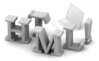 HTML letters