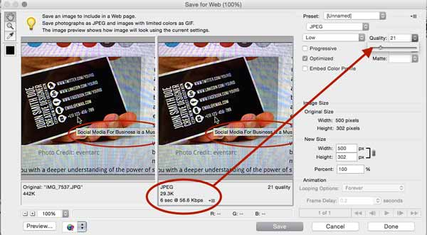 Image file size photoshop