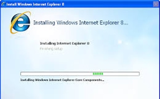 Internet Explorer 8 Could Not Be Installed Error