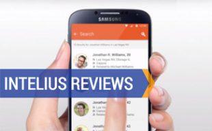 Intelius phone app