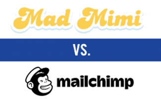 Mad Mimi vs MailChimp logos