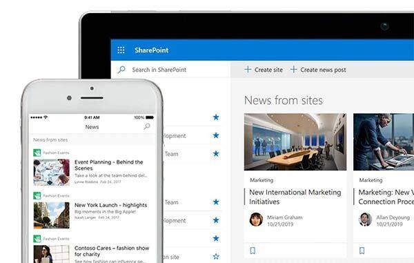 Microsoft 365 SharePoint screenshot