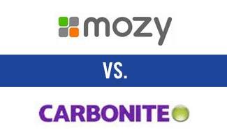 Mozy vs Carbonine