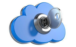 Key lock in cloud
