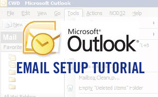 Outlook email setup tutorial