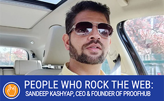 Sandeep Kashyap headshot (caption: ProofHub CEO And Founder Sandeep Kashyap)