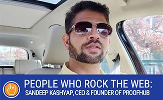 Sandeep Kashyap headshot (caption: ProofHub CEO And Founder Sandeep Kashyap)