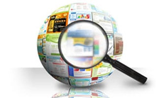Search marketing globe